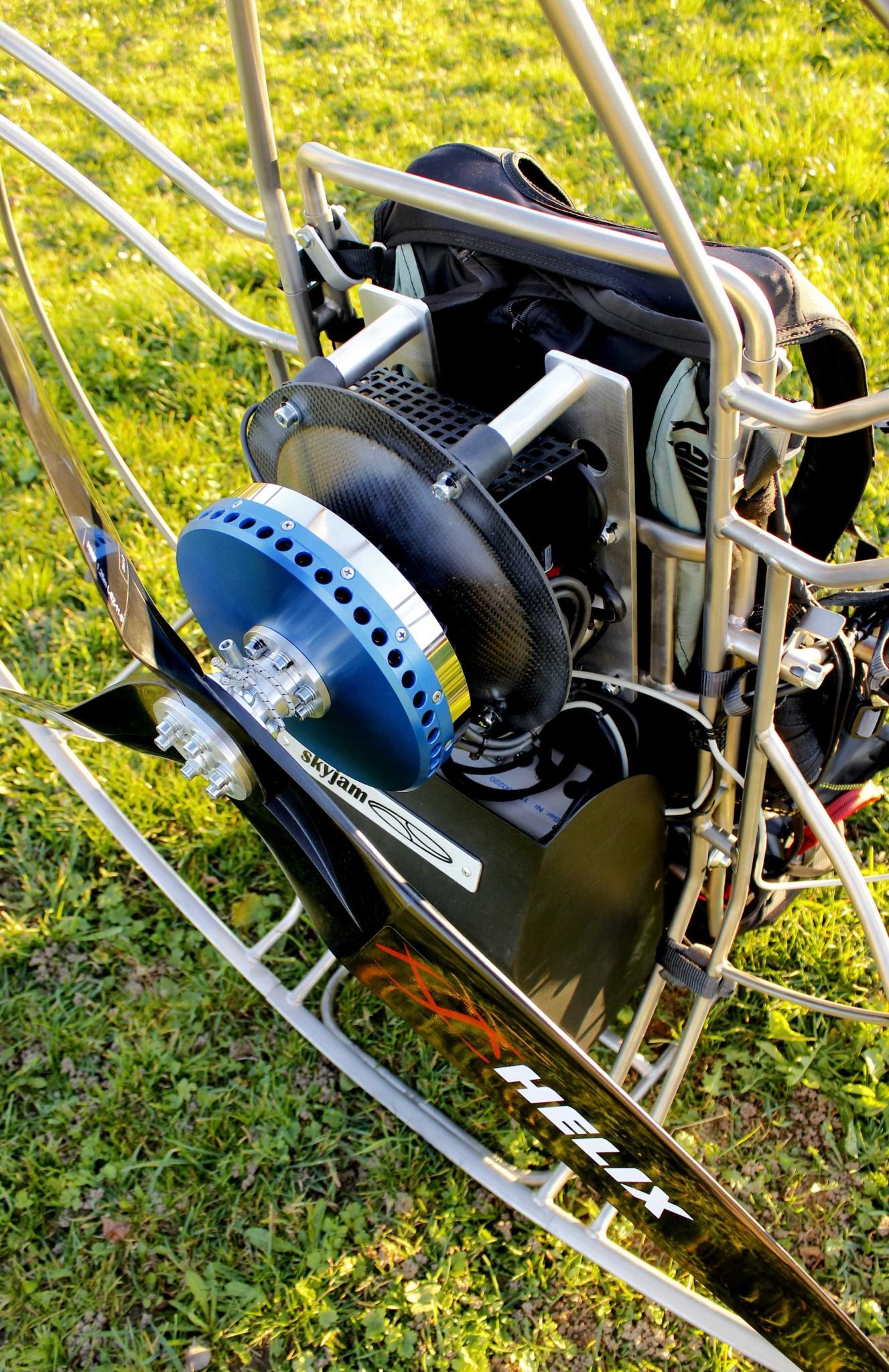 St Elektro Electric Paramotor